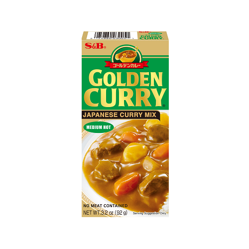 Golden Curry Mix Medium Hot 92g Search Products S B Foods Global Site