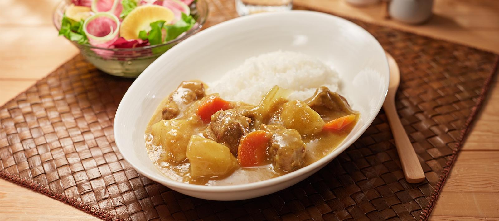 Original Japanese Curry Recipes S B Foods Global Site